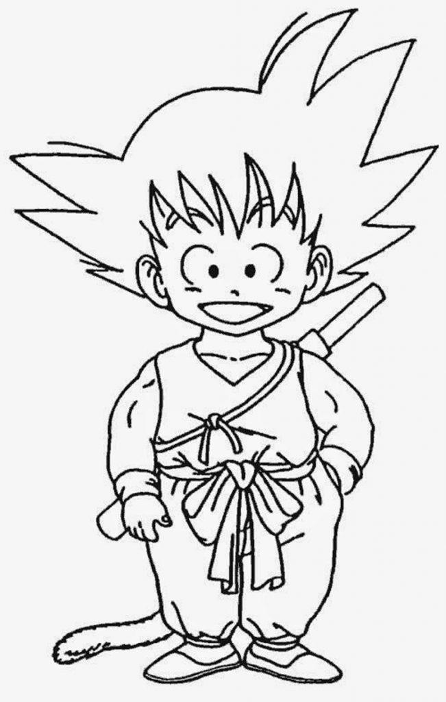 Dibujo Goku