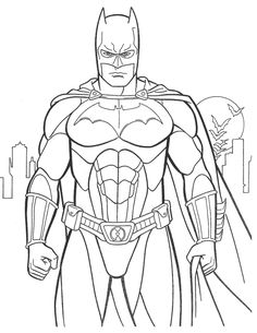 Dibujo Batman