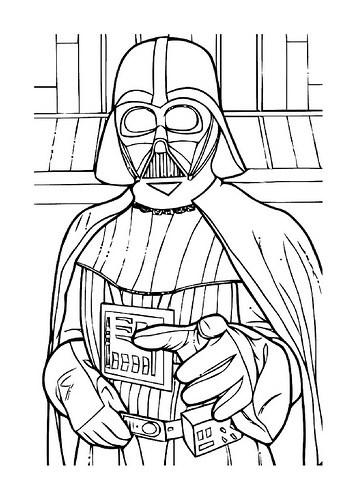 Dibujo Darth Vader