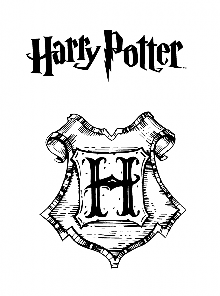Dibujo Harry Potter