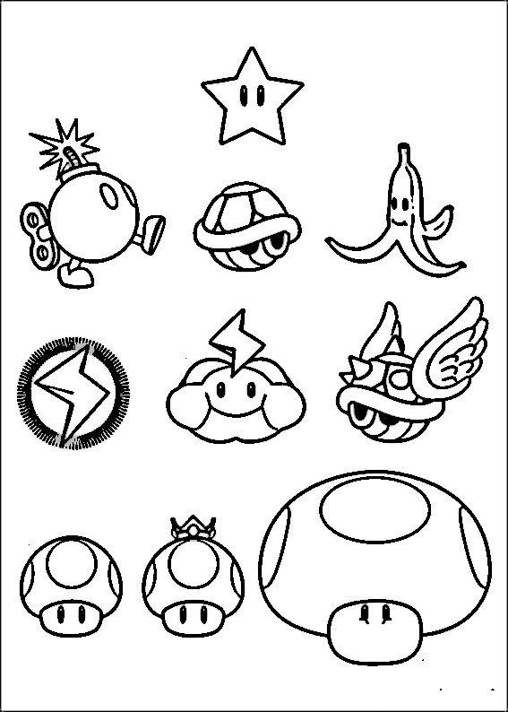 Dibujo Mundo Mario