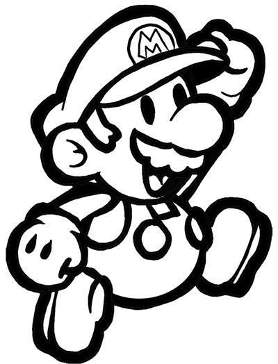 Dibujo Mario