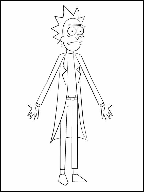 Dibujo Rick