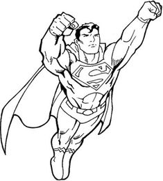 Dibujo Superman